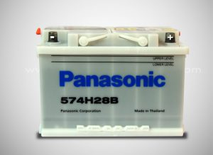 panasonic maintenance free car battery din75-mf